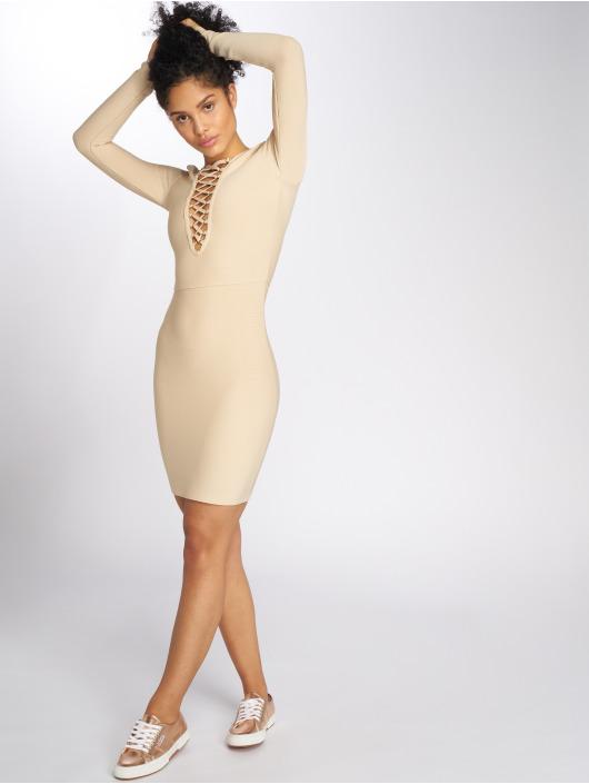 Danity Paris Sukienki Avalyn bezowy