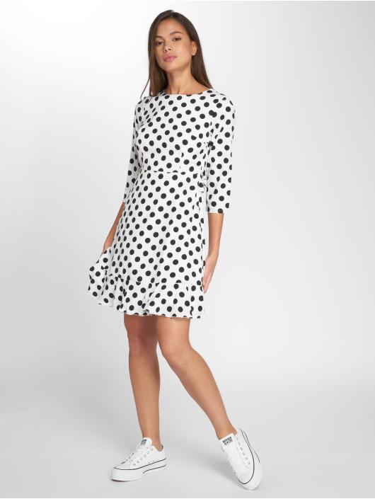 Danity Paris Sukienki Dot bialy