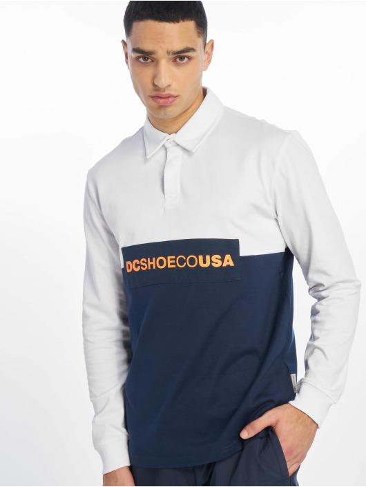 DC Camiseta de manga larga Waumbeck Polo blanco
