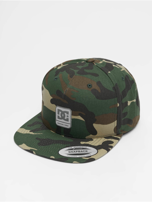 DC Snapback Cap Snapdragger camouflage