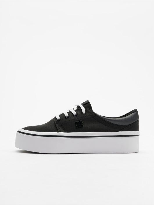 DC Sneaker Trase Platform TX SE schwarz