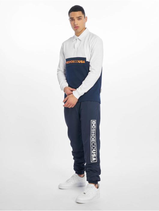 DC T-Shirt manches longues Waumbeck Polo blanc