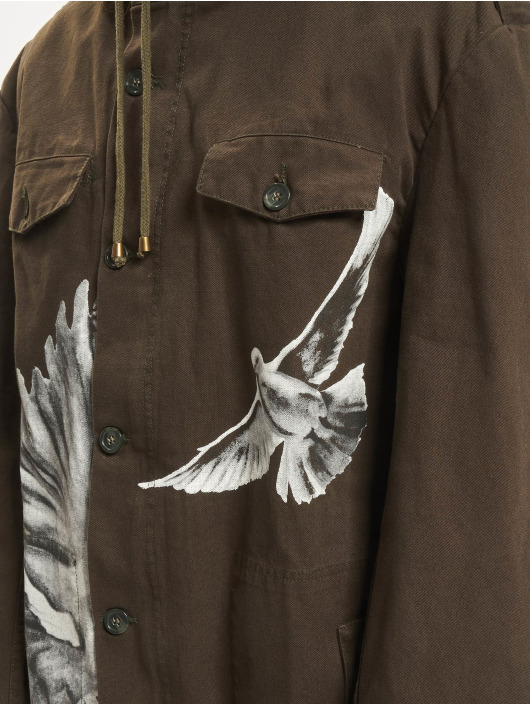 De Ferro Демисезонная куртка Born To Be Free зеленый