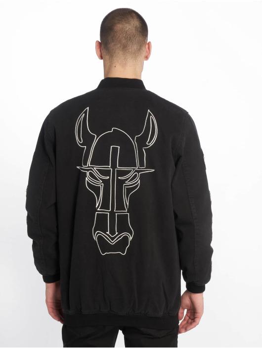 De Ferro Демисезонная куртка Confident Spirit черный
