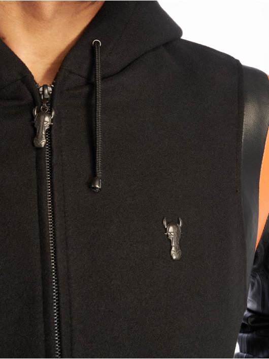 De Ferro Кожаная куртка Stallion Ride черный