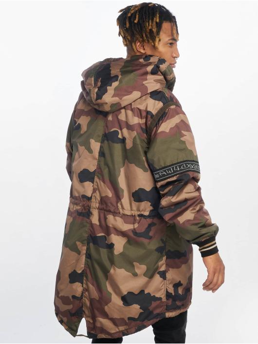 De Ferro парка London Camouflage камуфляж
