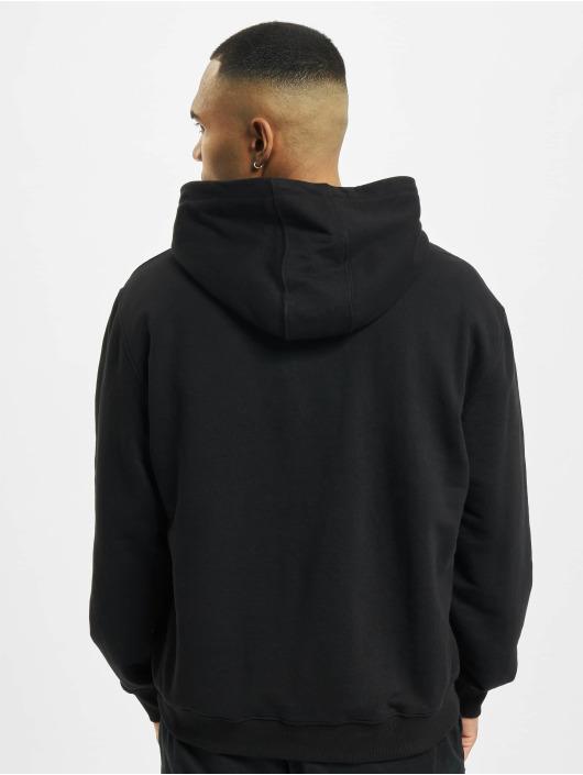 De Ferro Bluzy z kapturem Hood Connect czarny
