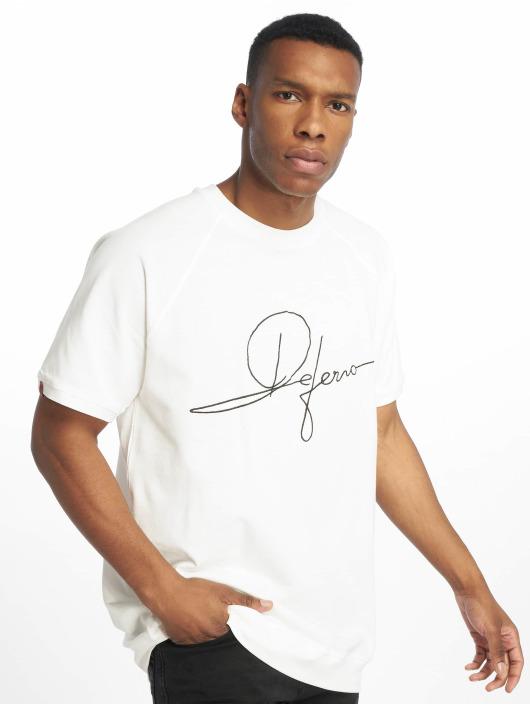 De Ferro Camiseta Signature Big T blanco
