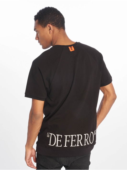 De Ferro Camiseta Signature negro
