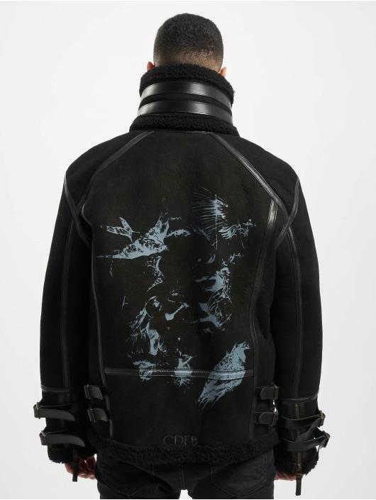 De Ferro Chaqueta de invierno Bird negro
