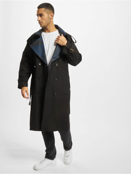 De Ferro Coats Word Long black