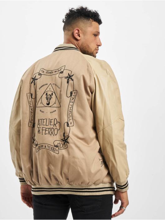 De Ferro College Jacket Fantasy Beige Bsj beige