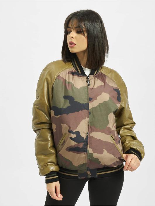 De Ferro College Jacket Strong Army Bsj camouflage