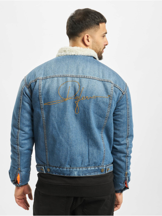 De Ferro Denim Jacket Blue Signature blue