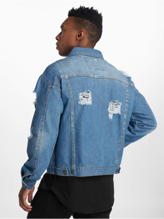 De Ferro Denim Jacket Denim Wall blue