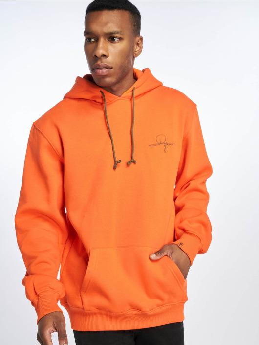 De Ferro Felpa con cappuccio Orange Fantasy arancio