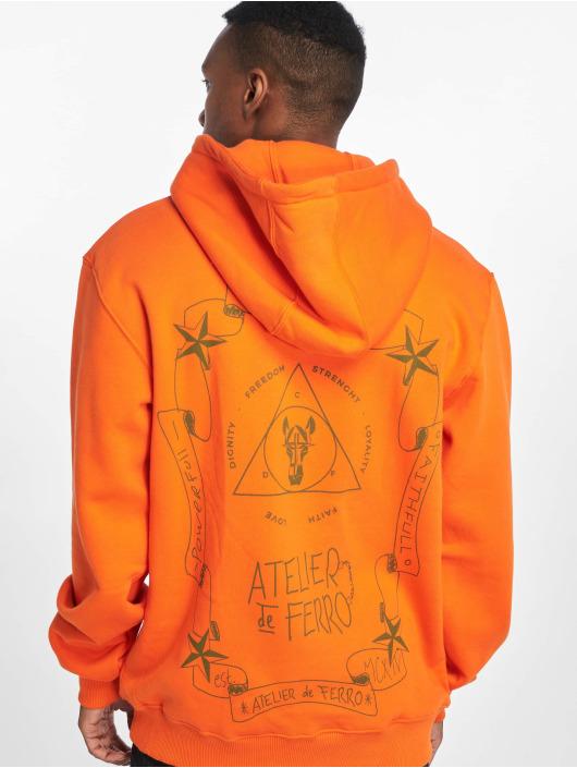 De Ferro Hoodie Orange Fantasy apelsin