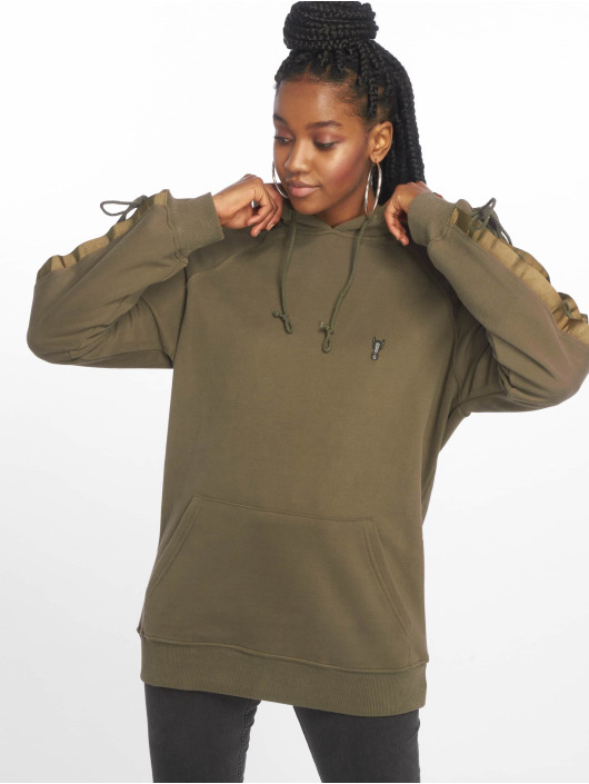 De Ferro Hoodie Bless You Green green