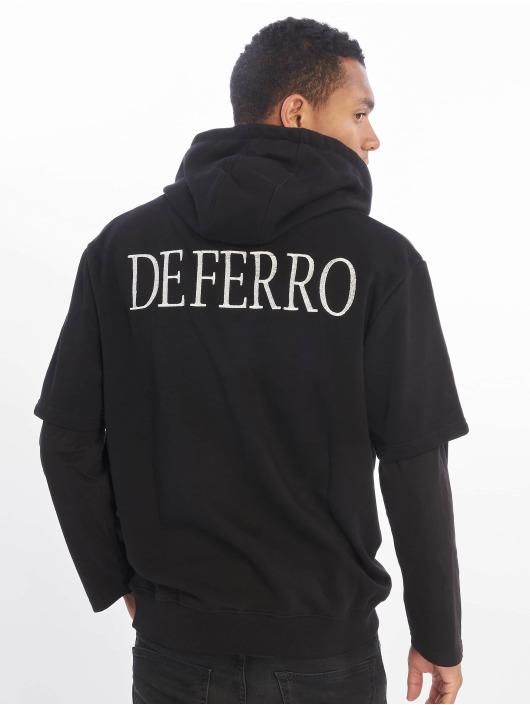 De Ferro Hoodies Arm B Hood čern