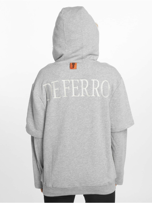 De Ferro Hoodies Arm B Hood grå