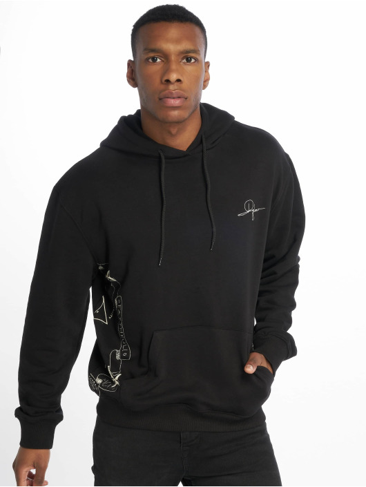 De Ferro Hoodies Fantasy Hood sort
