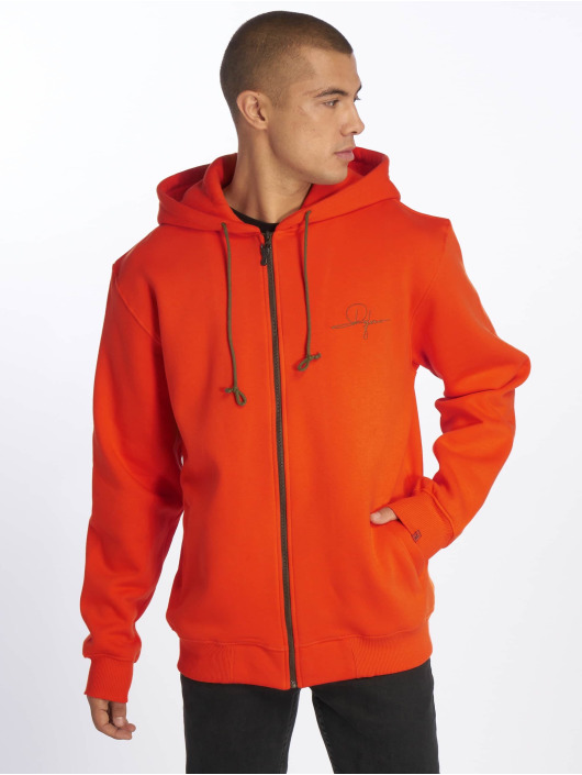 De Ferro Orange Fantasy Zip Orange