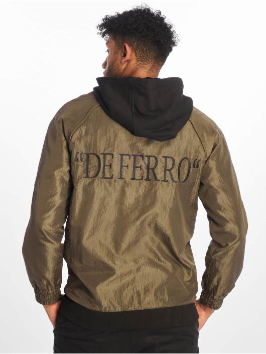 De Ferro Hoody Double Trouble zwart