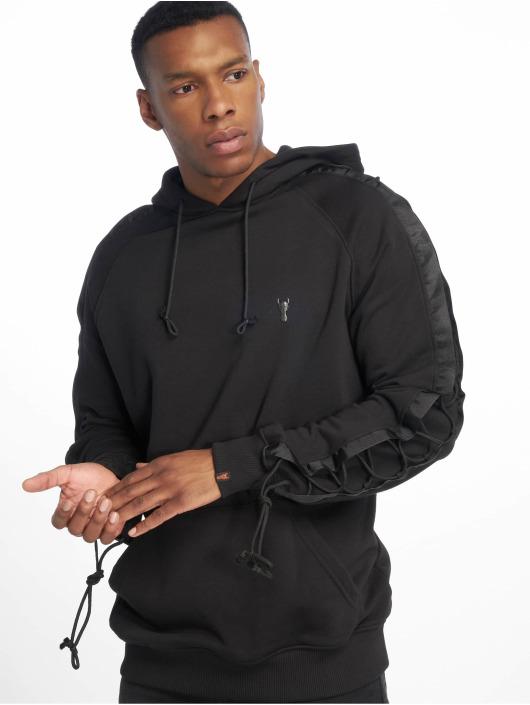 De Ferro Hoody Bless You Black zwart