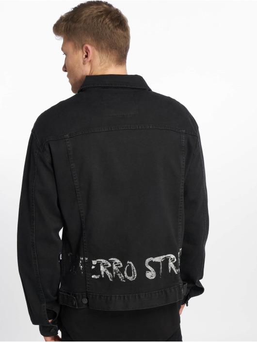 De Ferro Jeansjacken Decent schwarz