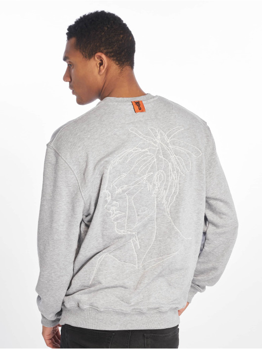 De Ferro Jumper Blow Dread Crew grey