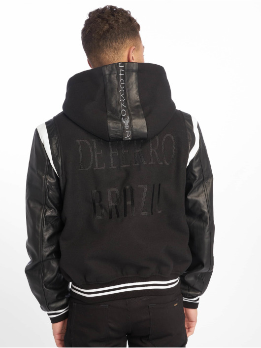 De Ferro Leather Jacket Stalion Ride black