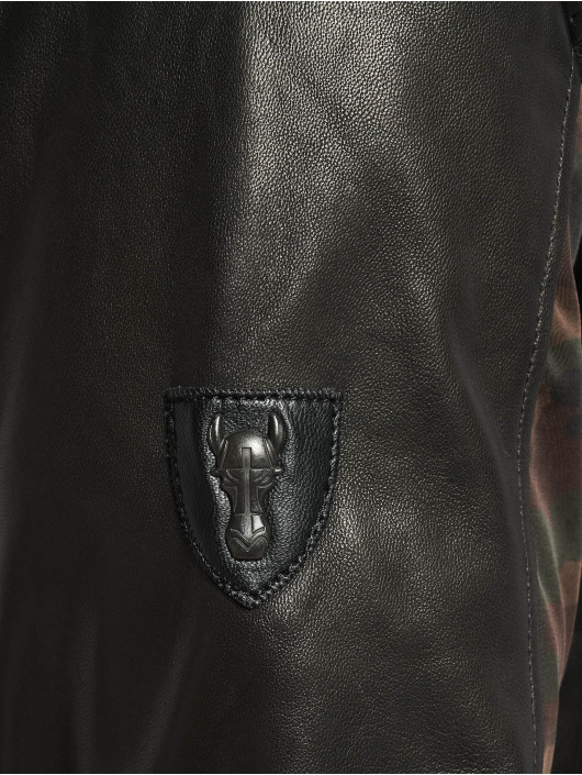 De Ferro leren jas Eve Bb zwart