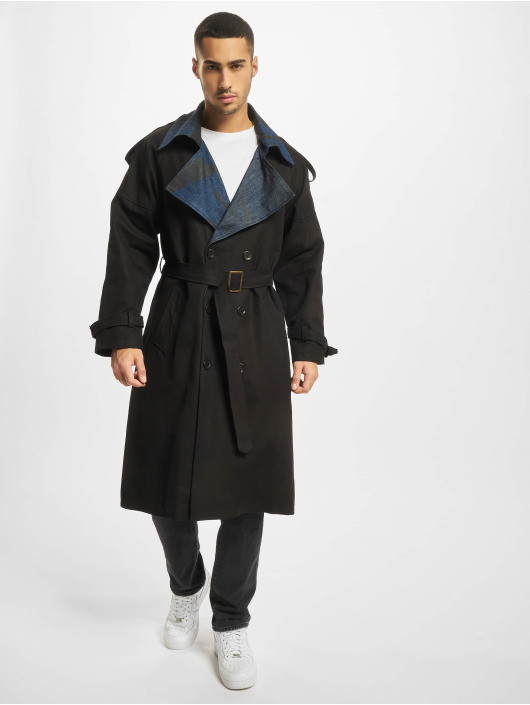De Ferro Manteau Word Long noir