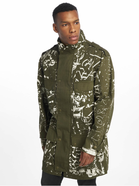 De Ferro Manteau Army Of Paint vert