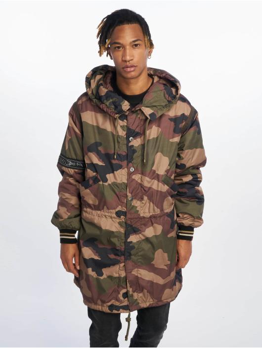 De Ferro Parka Bunda London Camouflage kamufláž