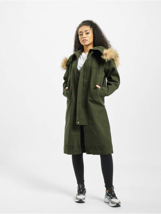 De Ferro Parka She Deferro green