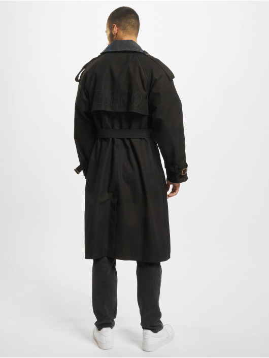 De Ferro Parka Word Long zwart