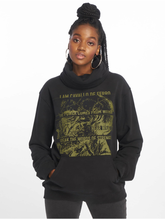 De Ferro Pullover Throat White Air black
