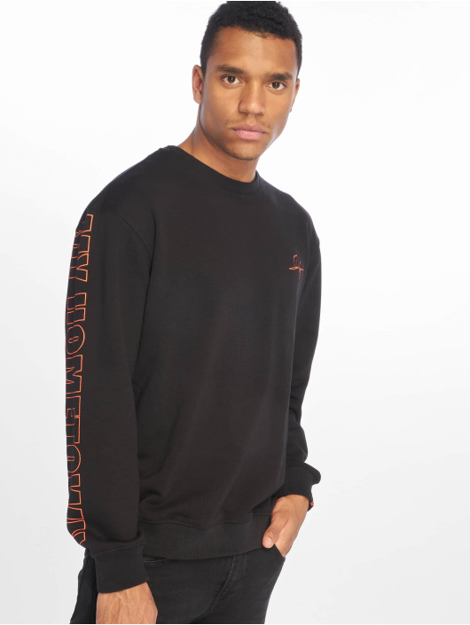 De Ferro Pullover My Hometown Crew black