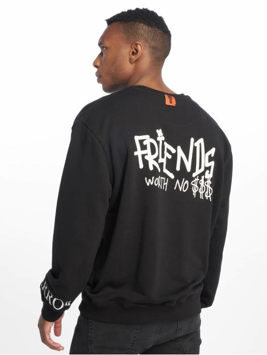 De Ferro Pullover No Money Crew black