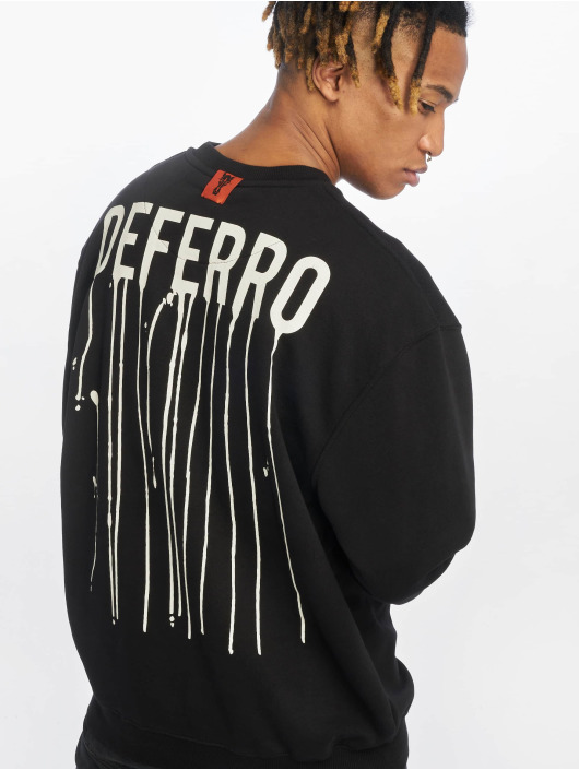De Ferro Pullover Draft Crew black