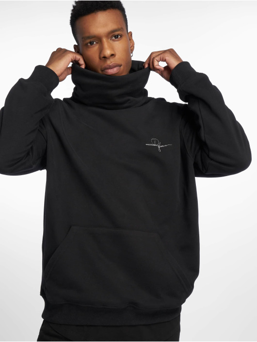 De Ferro Pullover Throat Connection schwarz