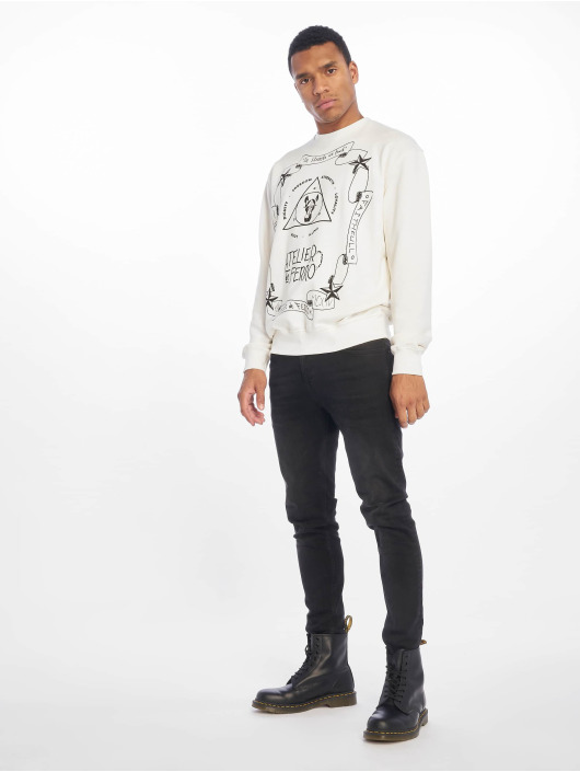 De Ferro Pullover Light Fantasy white