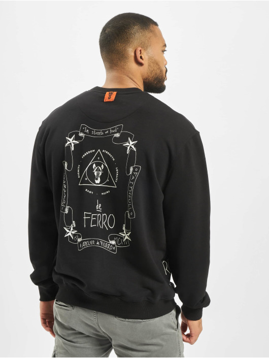 De Ferro Puserot Spine Fantasy Crew Love musta