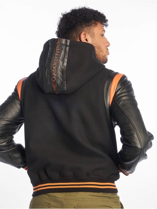 De Ferro Skinnjackor Bb Orange Art svart