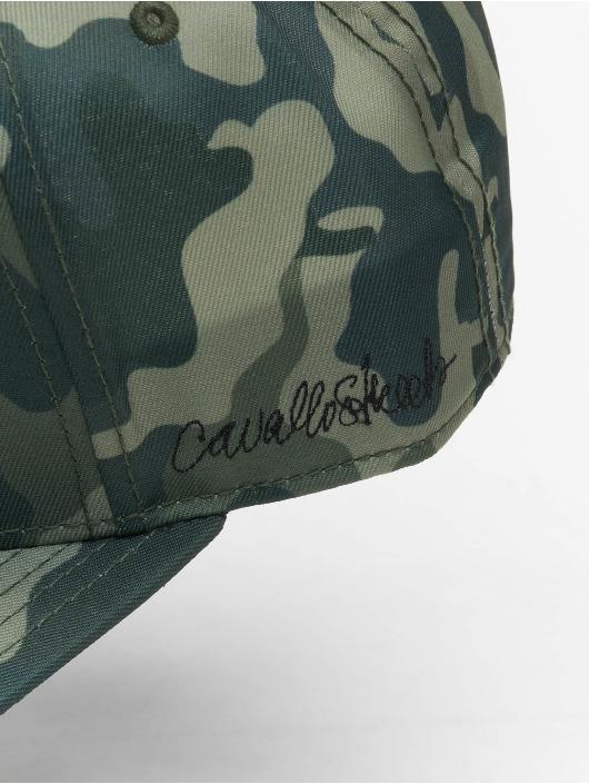 De Ferro Snapback Cap Fire camouflage