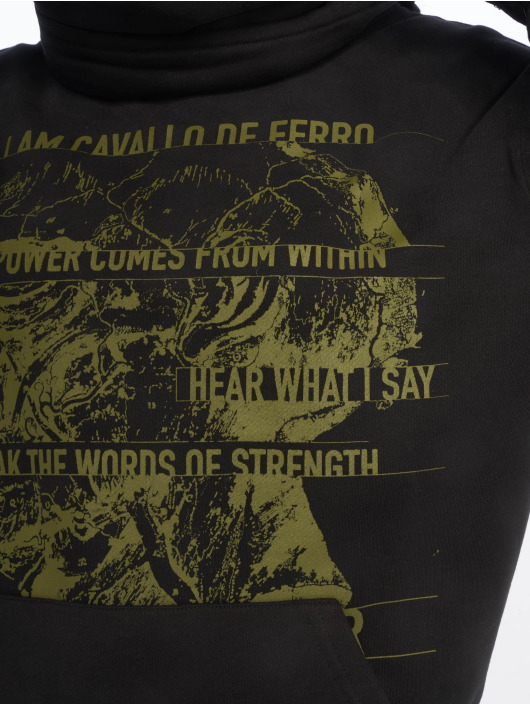 De Ferro Svetry Throat White Air čern