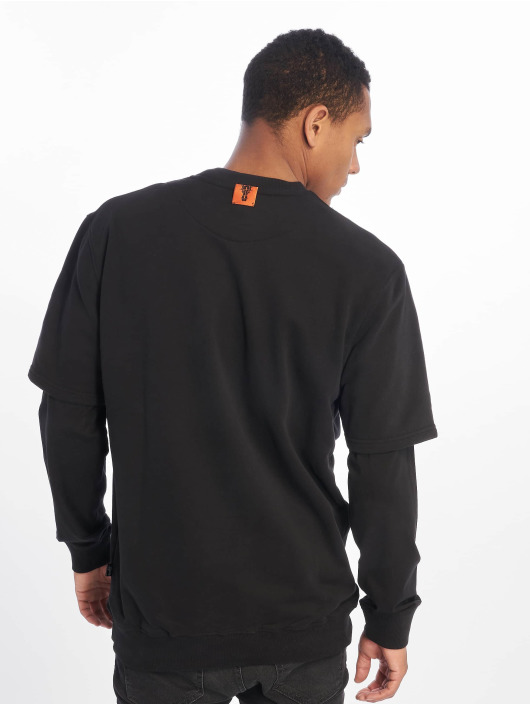 De Ferro Sweat & Pull Arm B Crew noir