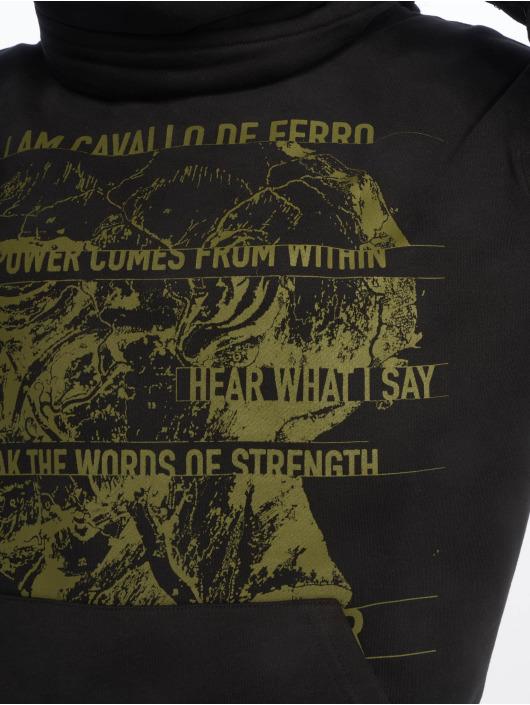 De Ferro Sweat & Pull Throat White Air noir