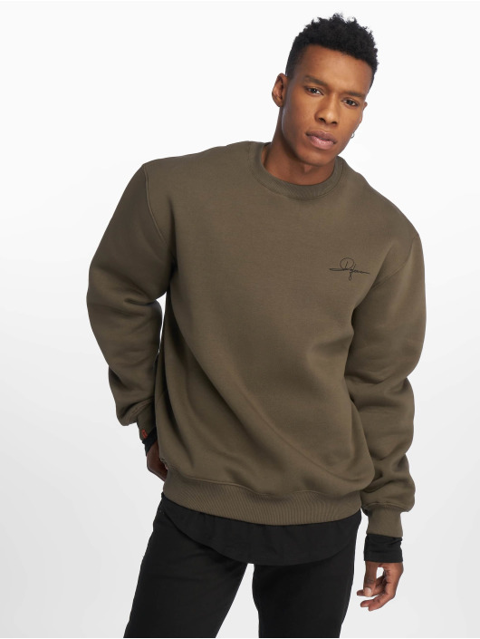 De Ferro Sweat & Pull Blow Green Crew vert